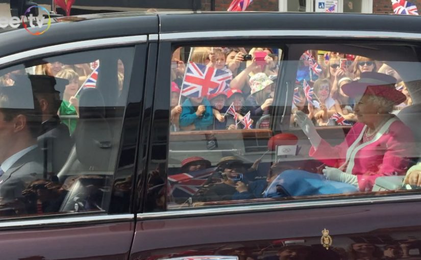 Queen Elizabeth II Birthday visit to Berkhamsted